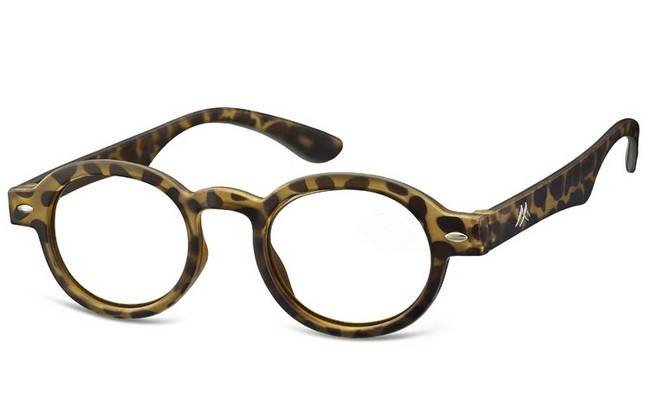 AC4 acetate frame with round lenses and tortoiseshell frame