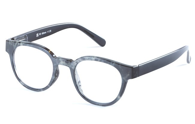 ACY mottled reading glasses