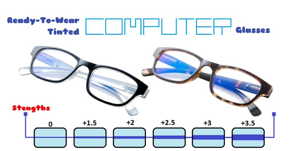 Ready-Made Computer Glasses