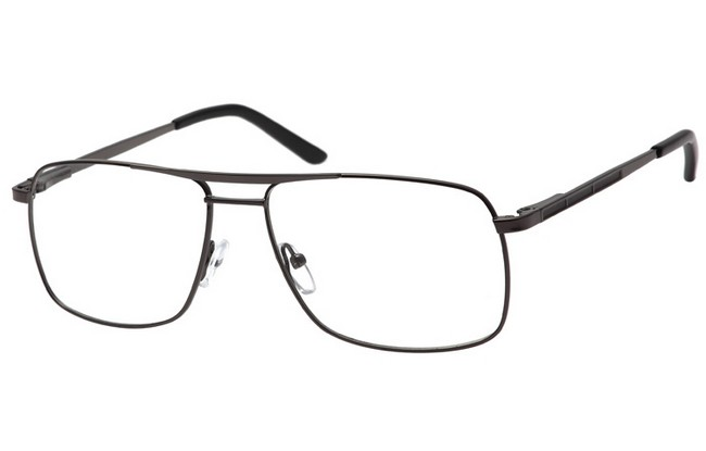 AV1 gunmetal aviator frame with sprung arms