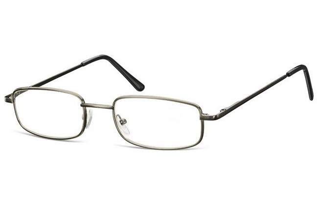 BL1 blue light filter gunmetal frame prescription computer glasses