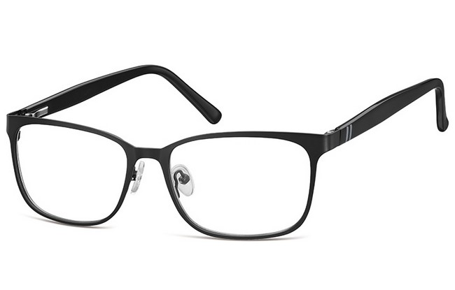 BL9 blue light filter black frame prescription computer glasses