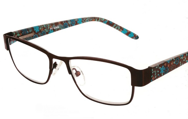 MCI floral reading glasses