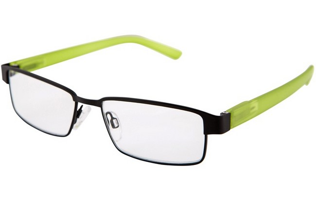 MCL lime multicolour frame