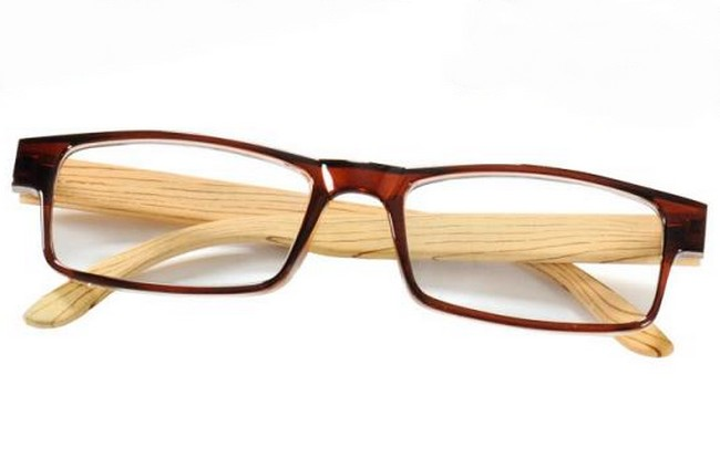 WE1 pine wood-effect frame